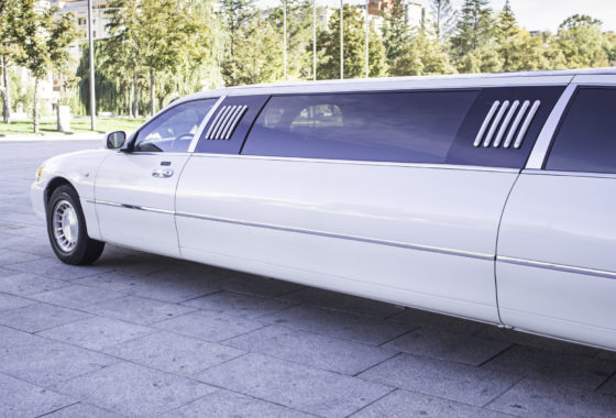 DP Limo Left Side White